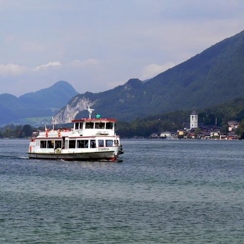 Schifffahrt auf dem Wolfgangsee