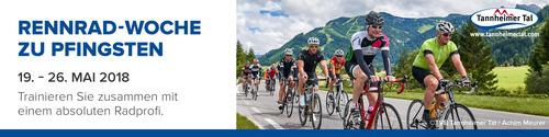 Rennrad-Woche zu Pfingsten im Tannheimer Tal 2018