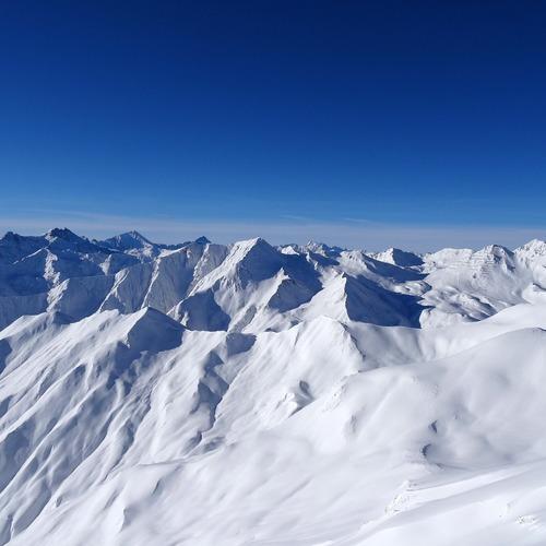 Winterliche Gipfel