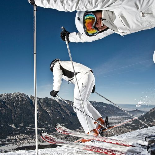 Ski- und Wandergebiet Garmisch-Classic