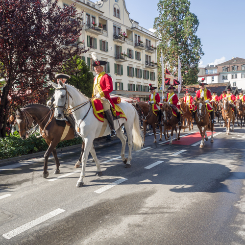 Unspunnenparade Interlaken