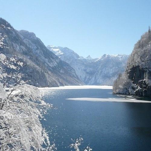Königssee im Winter