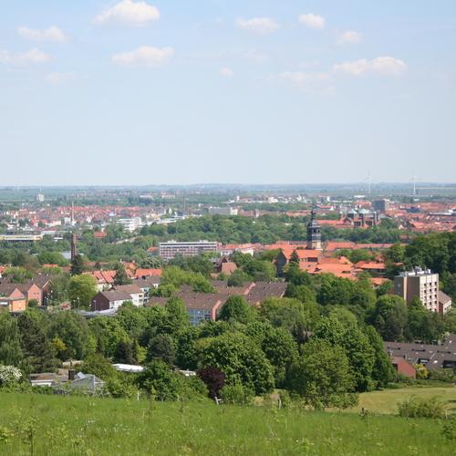 Ausblick auf Hildesheim