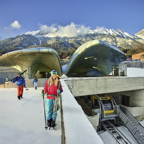Nordkettenbahn in Innsbruck
