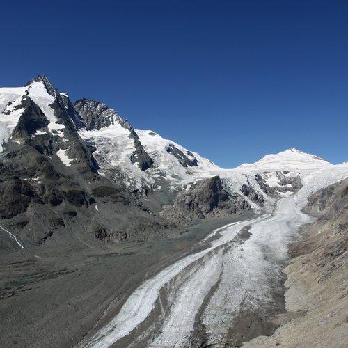Großglockner  mit Gletscher