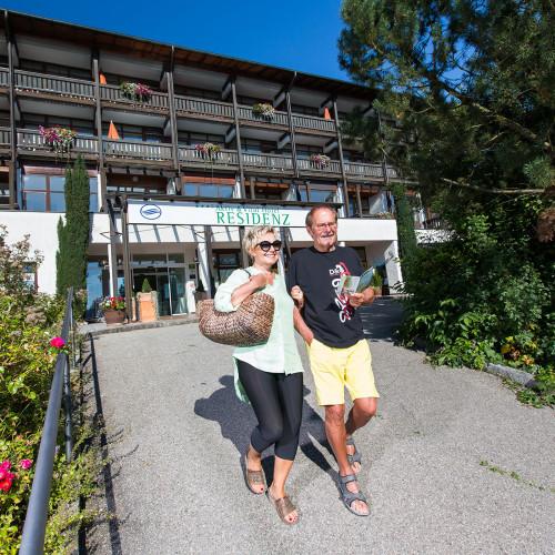 Außenansicht Hotel Residenz