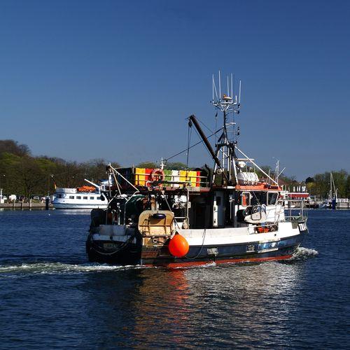 Travemündung Fischerboot