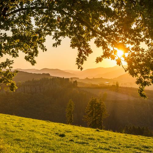 Schönes Wetter im Schmallenberger Sauerland