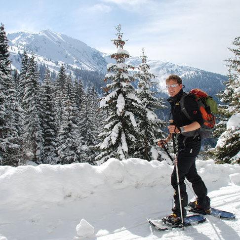 Winter Schneehschuhwandern