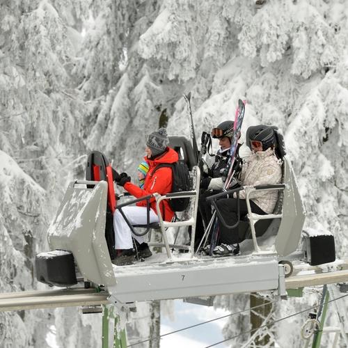 Wie-Li im Winter Wasserkuppe