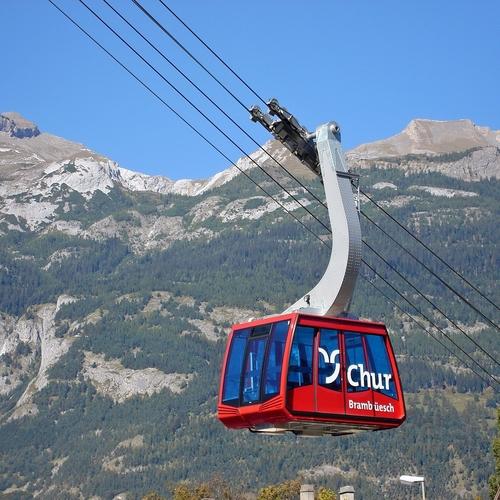 Bergbahn Chur Brambruesch Sommer