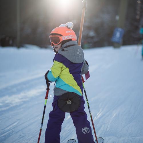 Hauseigener Skilift für Kinder