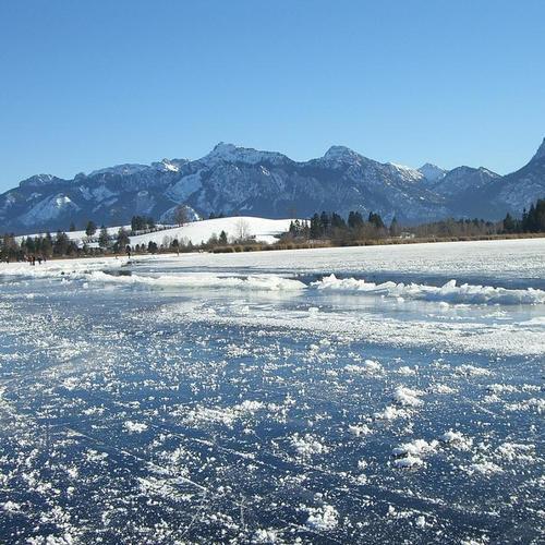 Eis am Hopfensee