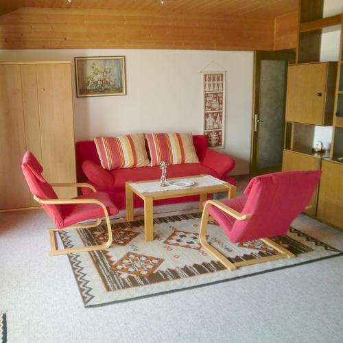 Wohnraum der Wohnung P