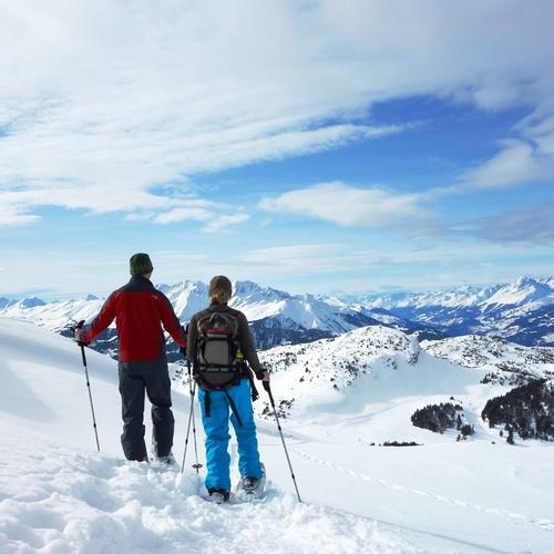 Schneeschuhtour-Keyvisual
