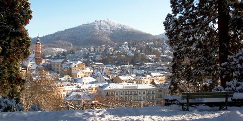 Baden-Baden Winter Stadtansicht