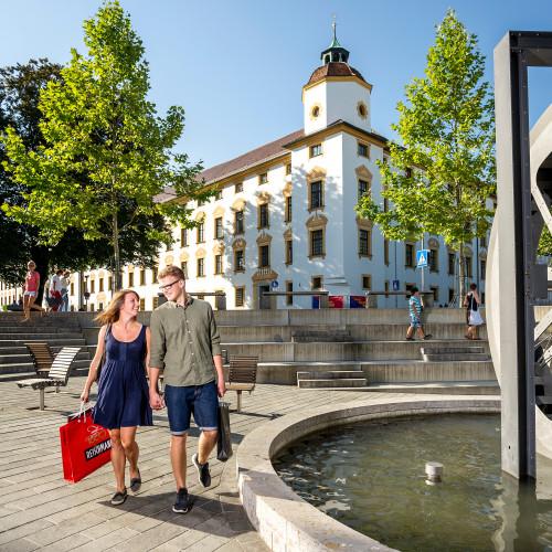 Shopping - Residenz & Mühlrad
