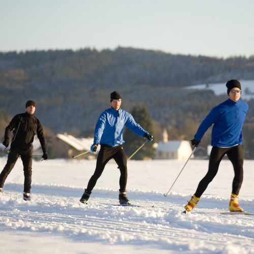 Wintersport in Leutkirch