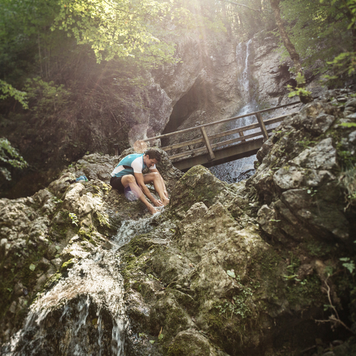 Wasserfall Bad Härin