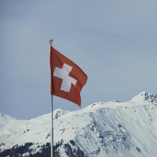 Sicht von Alp Garfiun nach Gotschna Klosters