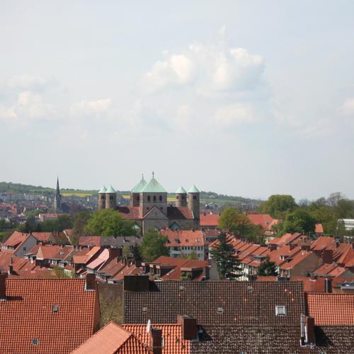 Über den Dächern von Hildesheim