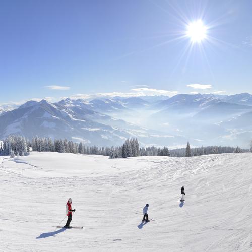 Skifahren Hopfgarten