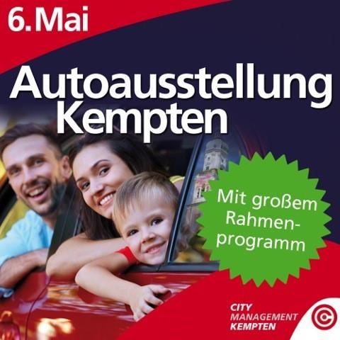 Du interessierst Dich für Autos? Auf geht´s zur Autoausstellung in Kempten!
