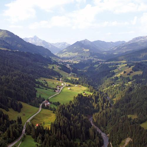 Das Kleinwalsertal in Vorarlberg