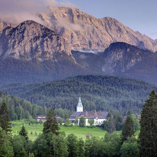 Schloss Elmau – Schauplatz des G7-Gipfels