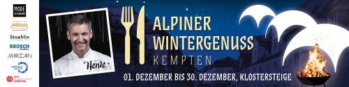 Alpiner Wintergenuss Kempten 2017