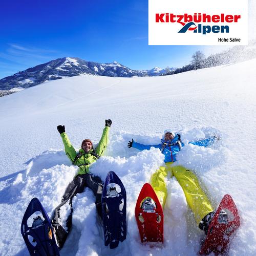 Schneeschuhwandern am Gruberberg in Hopfgarten