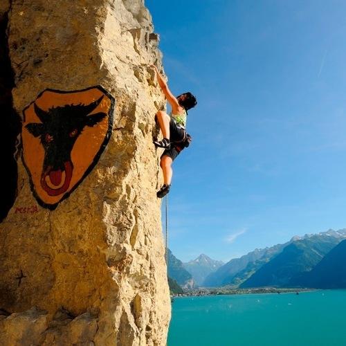 Klettern am Axenegg