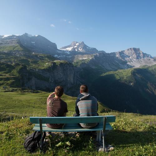 Panorama auf dem Schächentaler Höhenweg