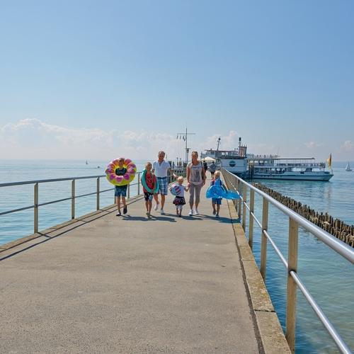 Schifffahrt in Hagnau