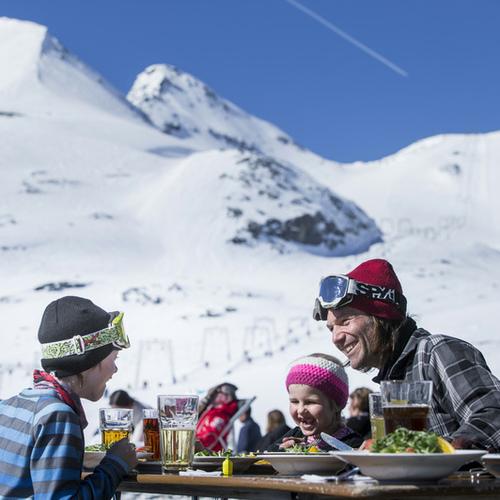 Essen und Trinken Winter