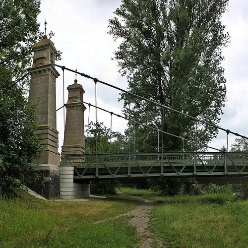 Kabelhängerbrücke