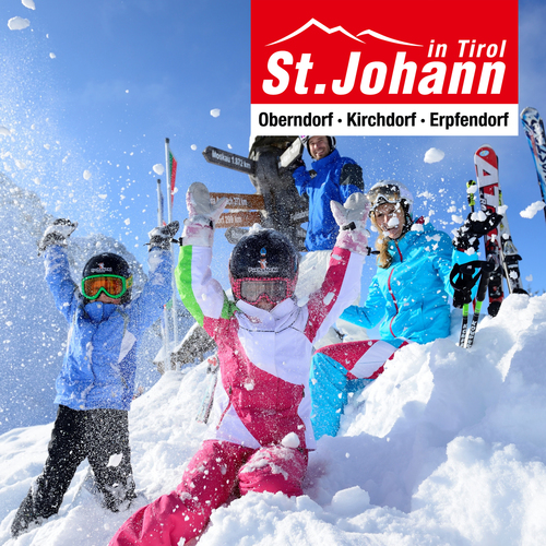 Spaß im Schnee in St. Johann in Tirol