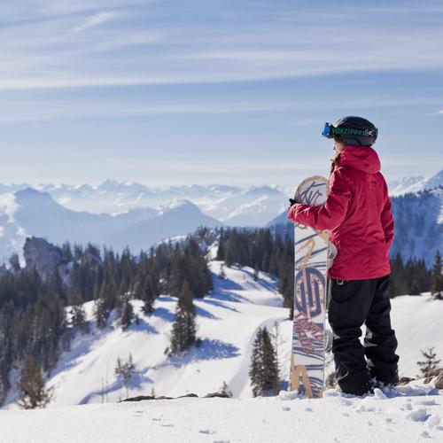 Snowboard Kampenwand