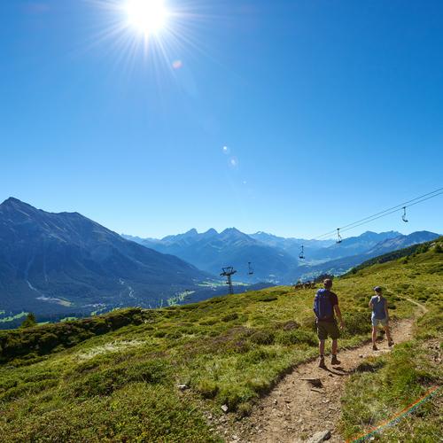 Lenzerheidner Bergbahnen im Sommer