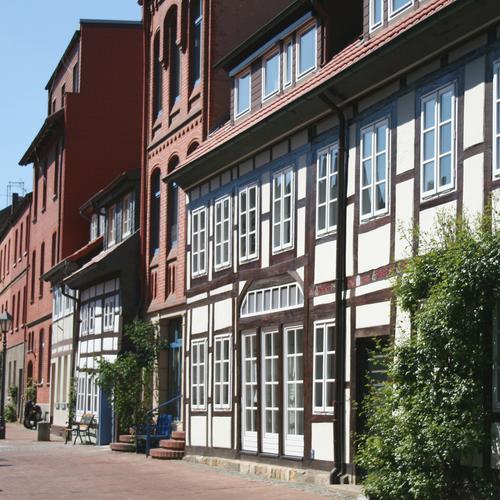 Fachwerkviertel in der Keßlerstraße
