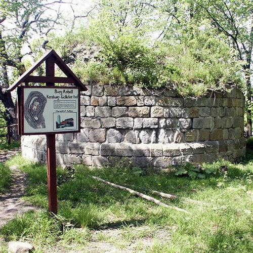 Burgruine Anhalt_Harzteufel CC BY-SA 3.0 via wikimedia commons.jpg