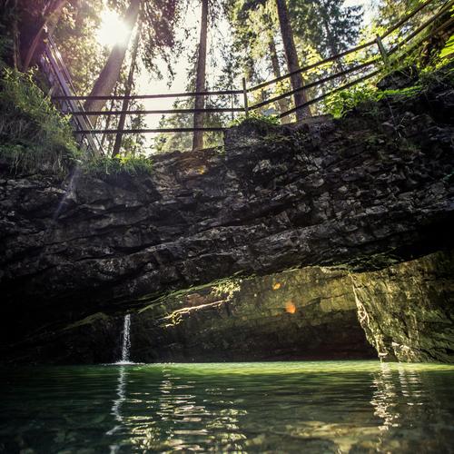 Naturbrücke Kleinwalsertal