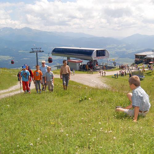 Lungauer Bergbahnen im Sommer