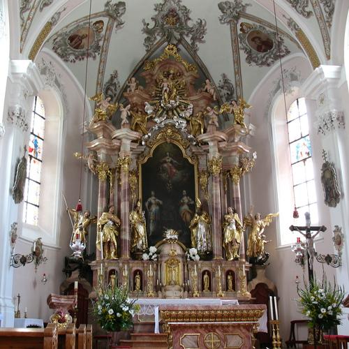Pfarrkirche Oberau