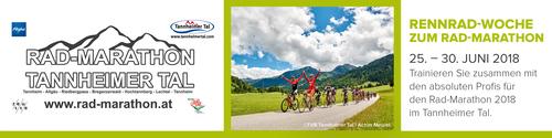 Rennrad-Woche zum Rad-Marathon Tannheimer Tal 2018