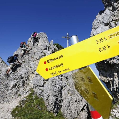 Touren in der Alpenwelt Karwendel