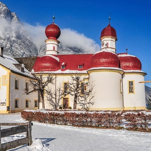 St. Bartholomä im Schnee