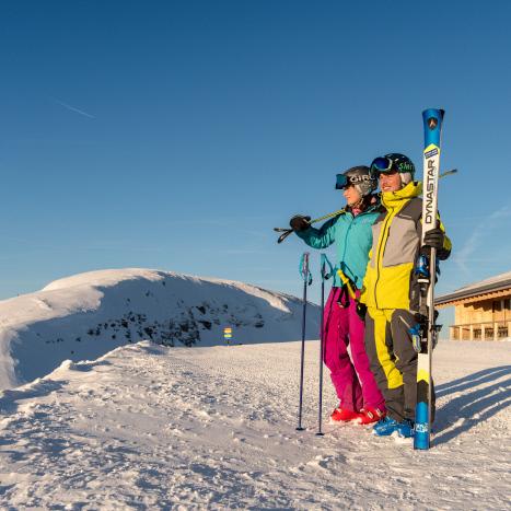 Wintersportgebiet Chaeserugg