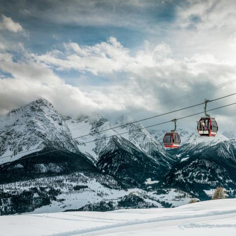Skigebiet Scuol