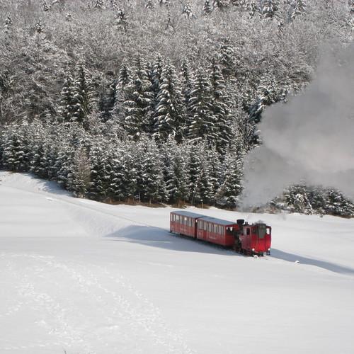 Schafbergbahn im Winter